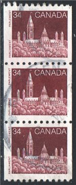 Canada Scott 952 Used Trio