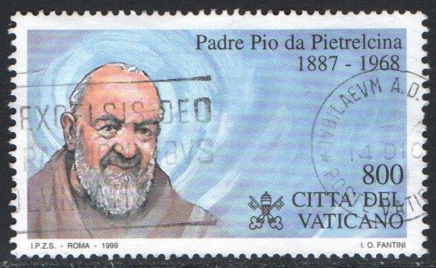 Vatican Scott 1105 Used