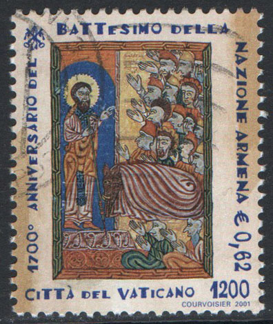 Vatican Scott 1202 Used