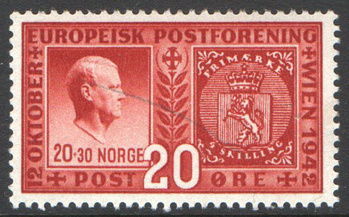 Norway Scott 253 Mint