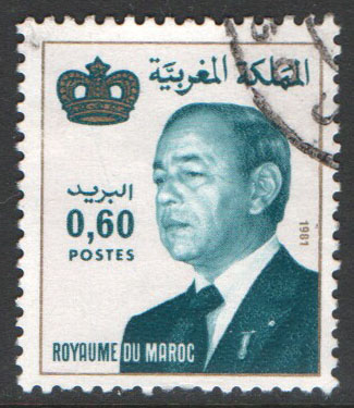 Morocco Scott 514 Used