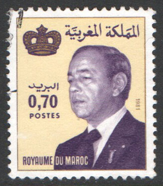 Morocco Scott 516 Used