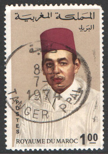 Morocco Scott 185 Used