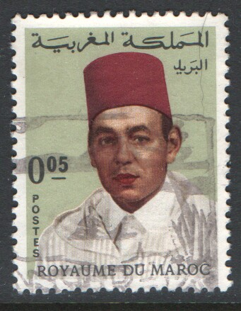 Morocco Scott 171 Used