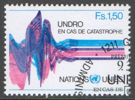 United Nations Geneva Scott 83 Used