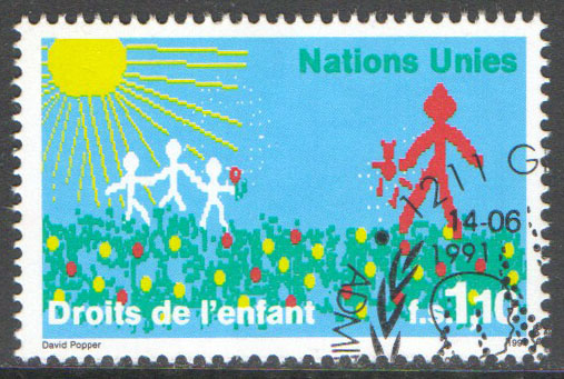 United Nations Geneva Scott 204 Used