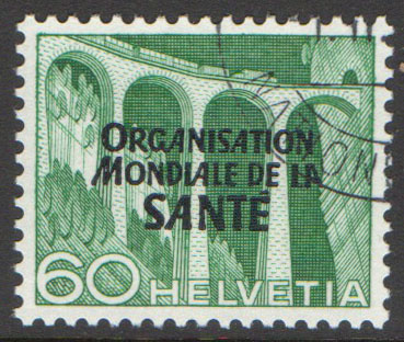 Switzerland Scott 5-O-15 Used