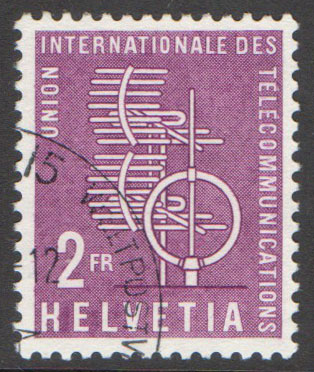 Switzerland Scott 10-O-9 Used