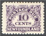 Newfoundland Scott J6 Mint VF (P10.3x10.3)