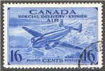 Canada Scott CE1 Used VF