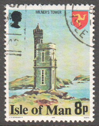 Isle of Man Scott 117a Used