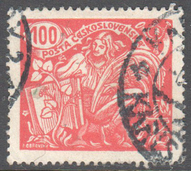 Czechoslovakia Scott 92d Used