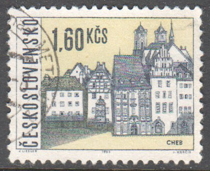 Czechoslovakia Scott 1350 Used