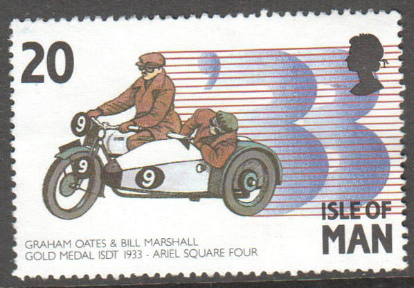 Isle of Man Scott 562 Used