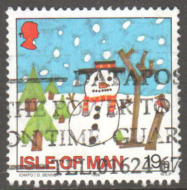 Isle of Man Scott 723 Used
