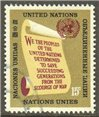 United Nations New York Scott 147 Used