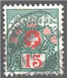 Switzerland Scott J39 Used