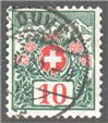 Switzerland Scott J38 Used