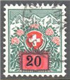 Switzerland Scott J47 Used