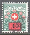 Switzerland Scott J45 Used