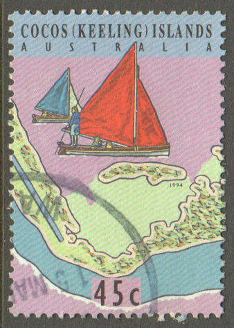 Cocos (Keeling) Islands Scott 292e Used