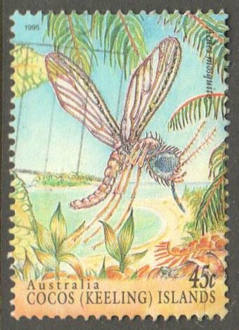 Cocos (Keeling) Islands Scott 302b Used