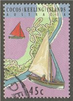 Cocos (Keeling) Islands Scott 292b Used