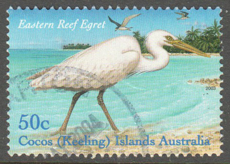 Cocos (Keeling) Islands Scott 337a Used