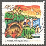 Cocos (Keeling) Islands Scott 323 Used