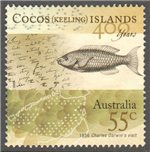 Cocos (Keeling) Islands Scott 361b Used