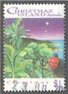 Christmas Island Scott 356 Used