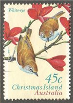 Christmas Island Scott 399 Used
