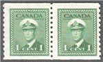 Canada Scott 278 Mint F Pair