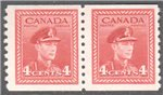 Canada Scott 281 Mint F Pair