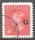 Canada Scott O19 Used VF