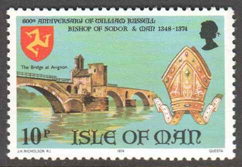 Isle of Man Scott 47 MNH