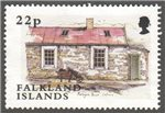 Falkland Islands Scott 825 Used