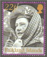 Falkland Islands Scott 812 Used