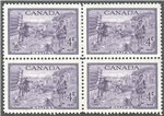 Canada Scott 283 Mint Block
