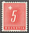 Switzerland Scott J60 MNH