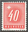 Switzerland Scott J66a MNH
