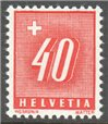 Switzerland Scott J66 MNH
