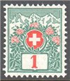 Switzerland Scott J35 Mint
