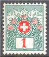 Switzerland Scott J35 MNG