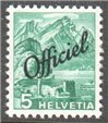 Switzerland Scott O20 MNH
