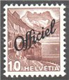 Switzerland Scott O21 MNH