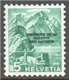 Switzerland Scott 2-O-71 MNH