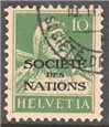 Switzerland Scott 2-O-8 Used