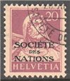 Switzerland Scott 2-O-12 Used