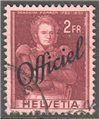 Switzerland Scott O36 Used